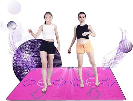 JHKJ HD Tanzmatte Doppel-TV-Computer Dual-Use Thicken Gewicht Zu Verlieren//Yoga Somatosensory Spiel//Tanzmaschine,A