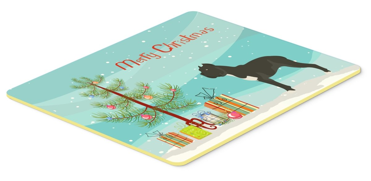 Caroline 's Treasures bb8507cmt Cane Corsoクリスマスキッチンマット、20hx30 W、マルチカラー   B0748LCMBD