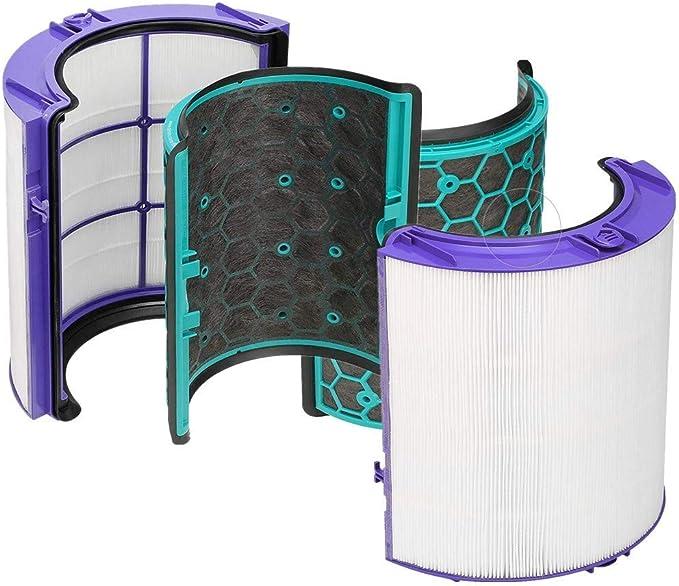 Find A - Filtro HEPA de repuesto y filtro de carbón activado interior para Dyson Hot and Cold DP04 HP04 TP04 Heatear & Cooler Pure Cool: Amazon.es: Grandes ...