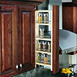 Rev-A-Shelf 3' Wall Pullout (30' H) Fillers, Natural