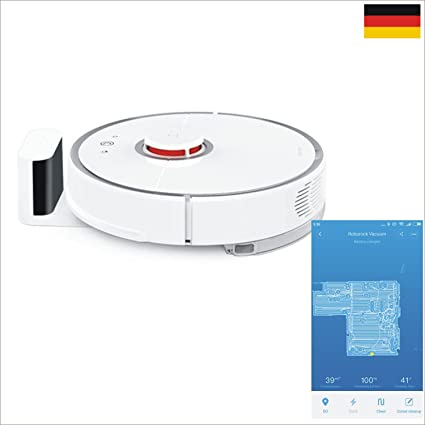 3 años de garantía Xiaomi Robot Aspirador 2. TE Generación EU Version Robo Rock