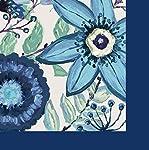 Gifted Living 4NC5108 Shades of índigo servilletas de cóctel, multicolor