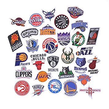 Nba decal stickers basketball team logo complete set of all 30 teams 3