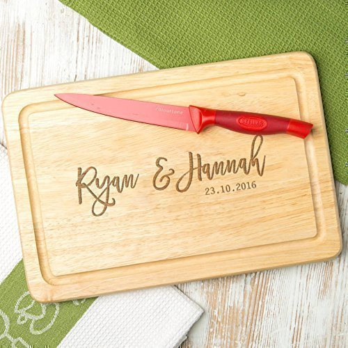 Slate Cheese Cutting Board/Personalized Gifts for Couples Home/Rustic Black Natural Slate - 12x8''