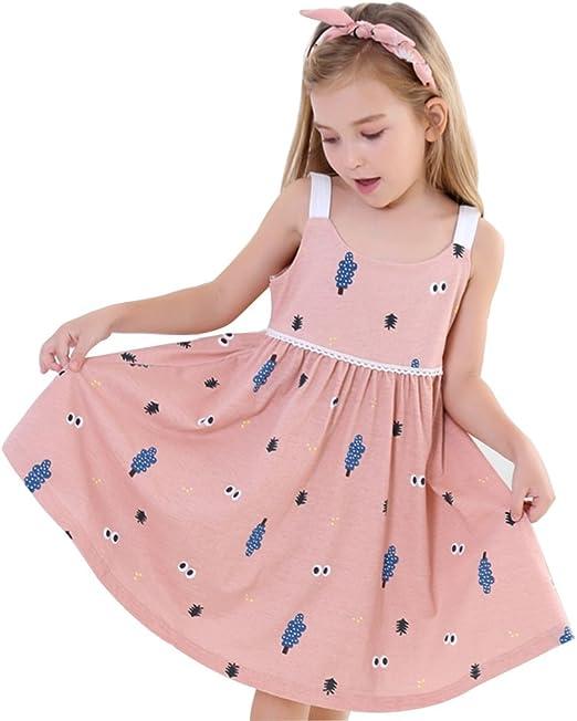 Pijamas Pijama de niña Camisón de niña Pijamas sin Mangas de ...