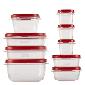 Rubbermaid Easy Find Lids Food Storage Container, 18-Piece Set
