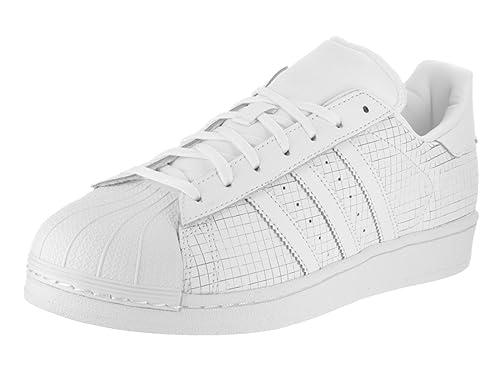 Adidas Superstar Hombre US 7.5 Blanco Zapatillas: Amazon.es: Zapatos y complementos