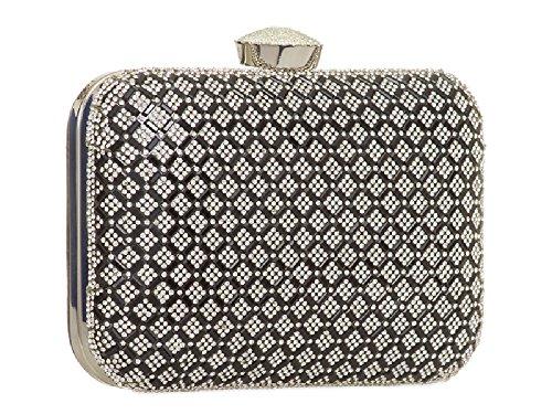 Bag Clutch Box Crystal Gold Ladies Gem Diamante amp; KTL861 Clasp Girls Handbag Womens Purse Evening Uqc4UgXp