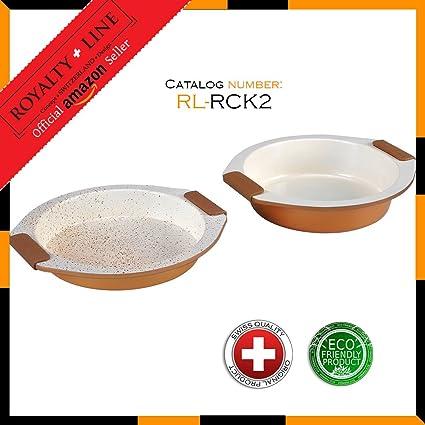 Royalty Line RL-RCK2 2 piezas juego de bandeja de horno con ...