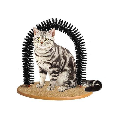 Kobwa Arco de gato para masajeador de mascotas, juguetes, juguetes, juguetes para gatos
