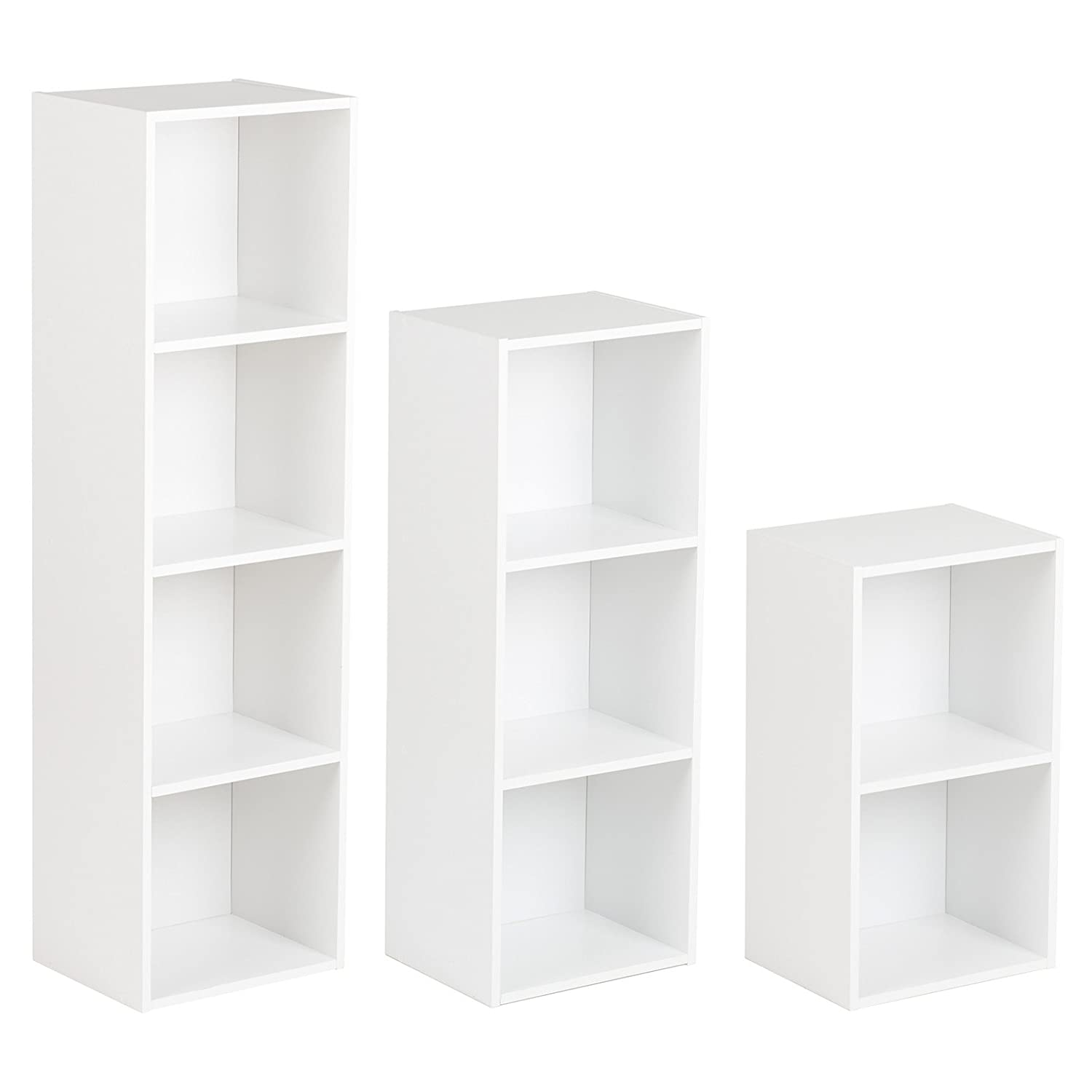 Hartleys White Freestanding Bookcase