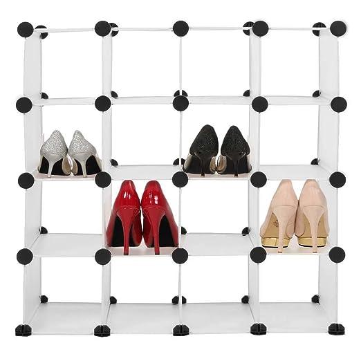Zearo Guardar Zapatos Modulable Diy 10 Cubos Estantería