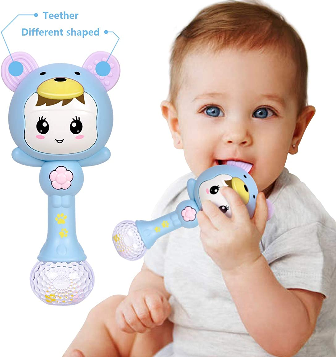 Refasy Children Early Education Musical Rattles Toy for Baby-Hot Gift