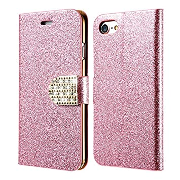 Excelsior Leather Wallet Flip Cover Case for Apple iPhone 7 Plus  Pink  Mobile Phone Cases   Covers