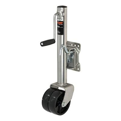 CURT 28155 Marine Boat Trailer Jack with 6-Inch Wheels, 1,500 lbs., 10-3/8 Inches Vertical Travel: Automotive