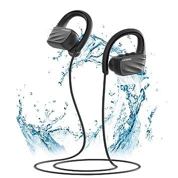 Auriculares Bluetooth Deportivos, LIFEBEE Bluetooth 5.0 Auricular ...