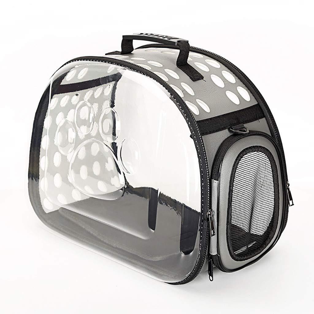 B 362022Pet bag Cat bag Dog bag Pet backpack Pet outing bag Carrying case Travel bag handbag Foldable Lightweight convenient (color   A, Size   45  32  23)