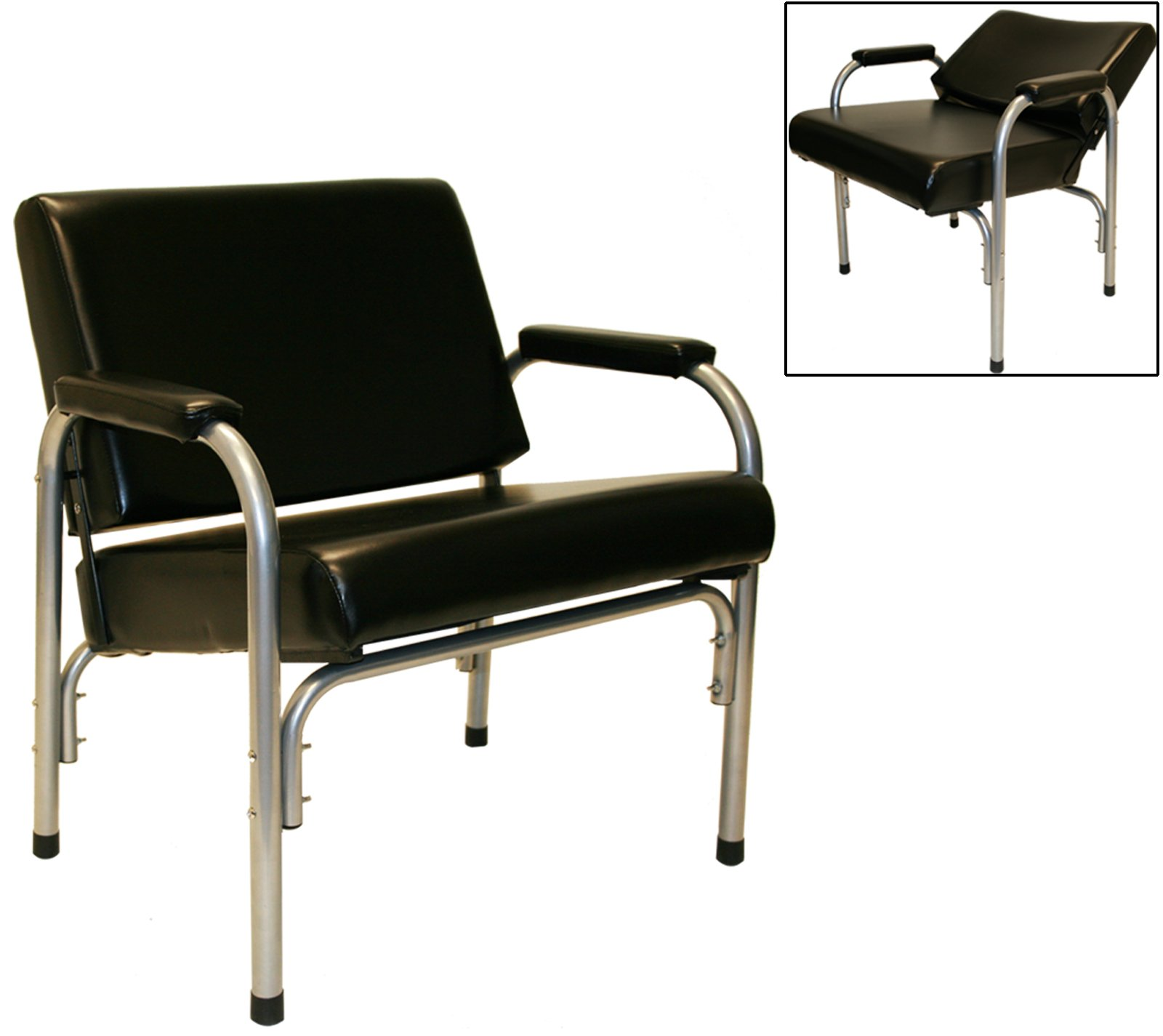 LCL Beauty LCL Plus Line Heavy Duty Extra Large Steel Reinforced Automatic Recline Shampoo Chair