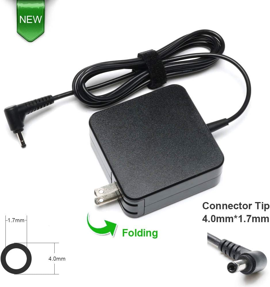 65W 45W Laptop Charger for Lenovo IdeaPad 310 320 330 330s 120s 130 510 520 530s 710s ADL45WCC PA-1450-55LL ; Chromebook-100s; Yoga 710 11 14 15; Flex 4 1470 AC Adapter Power Supply Cord