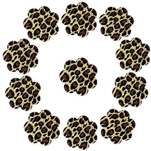 Adesivo Ypser Design Coppie Leopardo Multi Copertina Capezzolo e Fiore 5 al Copricapezzoli Raso Petali wqw86RB