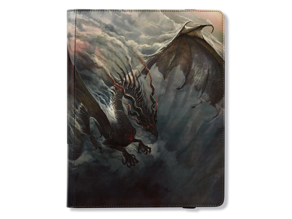 Binder: Dragon Shield 18 Pocket (Sideload) Portfolio: Fuligo Smoke Arcane Tinman AT-34902