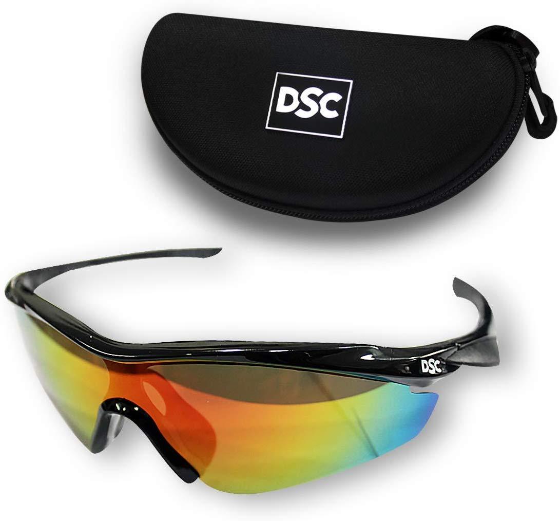 DSC Passion Polarized Cricket Sunglasses (Multicolour) by DSC
