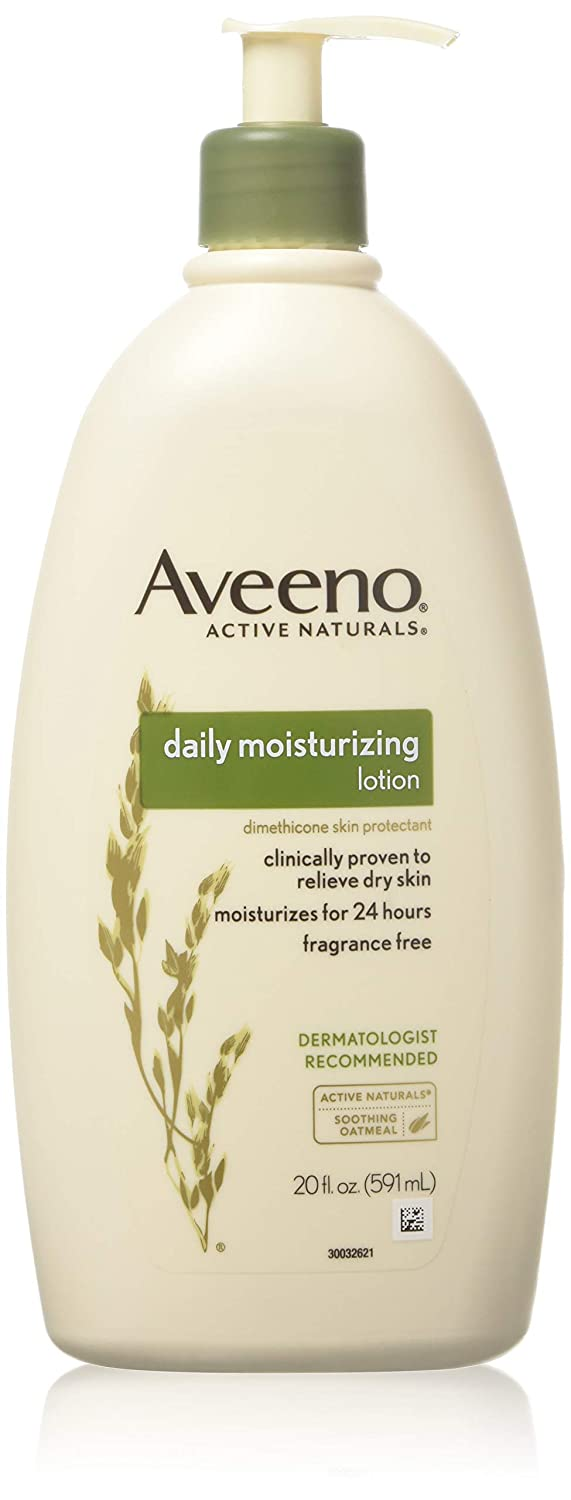 Aveeno Active Naturals Daily Moisturizing Lotion, 20 Ounce Pump