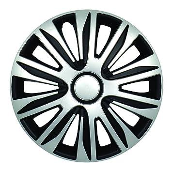 Car Wheel Trims Hubcap Lemans 15-Inch LEMANS PRO black//white 15 Black// White 1 Piece