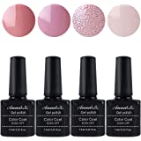 Annabelle Smalto Semipermanente Nail Polish UV LED Gel Unghie (Kit di 4 pcs 7.3ML/pc) 079