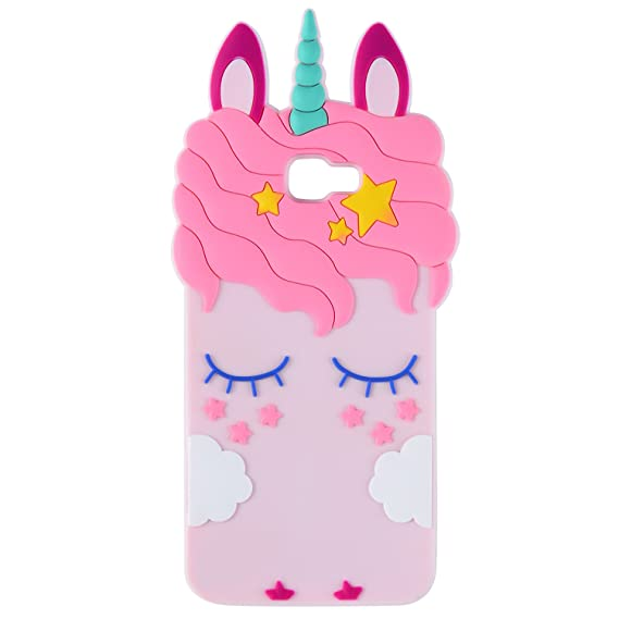 aaaa8b4af1 Joyleop Case for Samsung Galaxy J7 Prime,Cartoon Soft Silicone Cute 3D Fun  Cool Cover