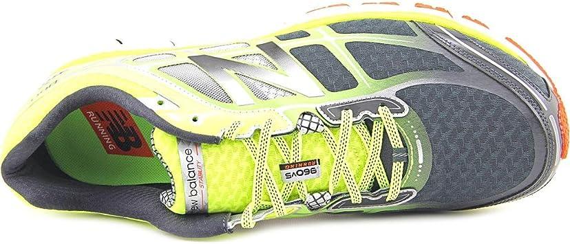New Balance 860 V5 Verde/Amarillo 2E Ancho Hombre - Verde/Amarillo, 41 EU/7.5 UK: Amazon.es: Deportes y aire libre