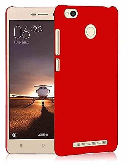 half off 10822 821e1 Shop Buzz Hard Case Back Cover For Xiaomi MI Redmi 3 PRIME 32 GB, Wine Red
