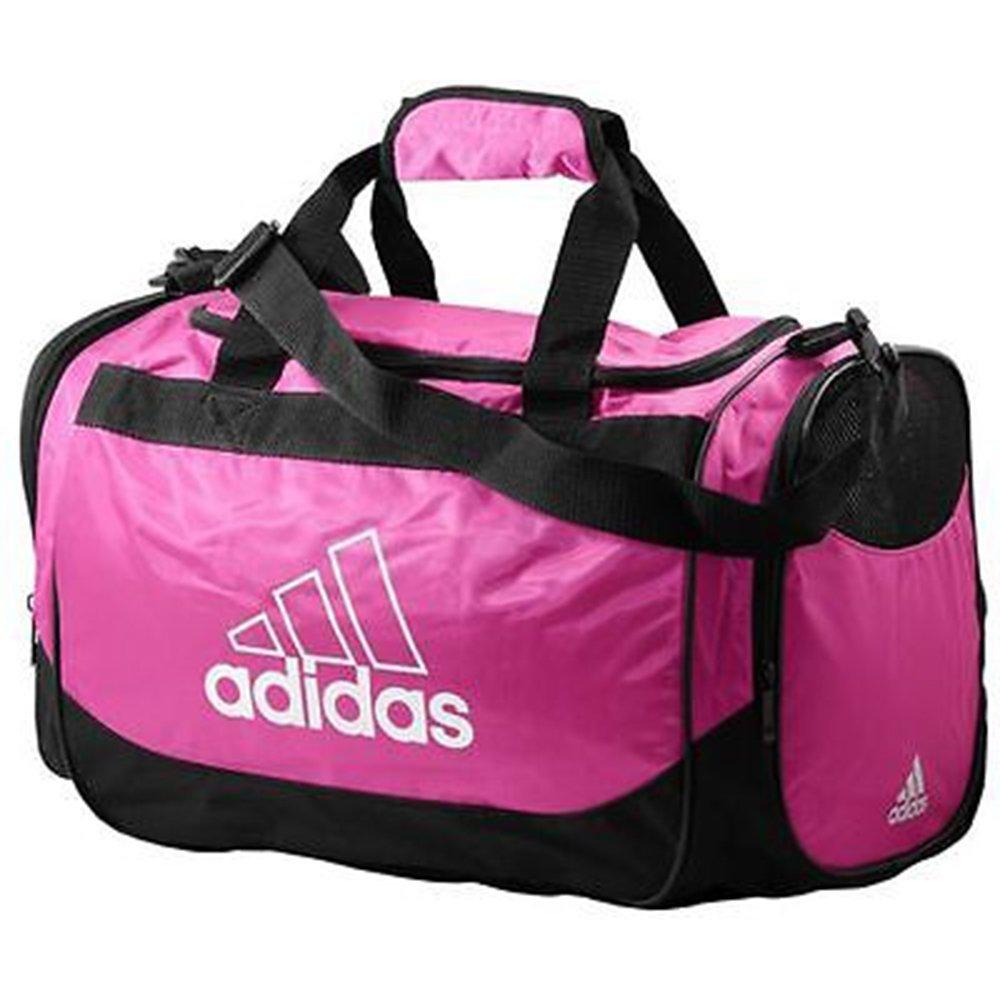 Small Adidas Defender Small Duffel Bag Magenta