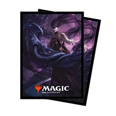 Theros: Beyond Death - Ashiok, Nightmare Muse Deck Protector Sleeves for Magic: The Gathering (100 ct.): Toys & Games