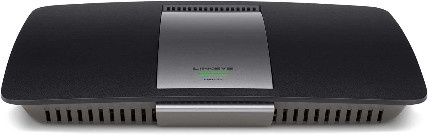 Linksys AC1750 DUAL BAND SMART Wi-Fi ROUTER (EA6700),Black