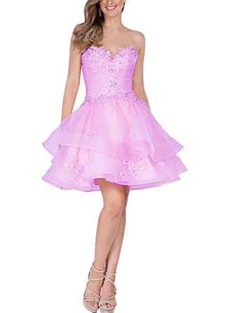 Now&Forever Sweetheart Prom Dresses for Teenagers (24, pink)