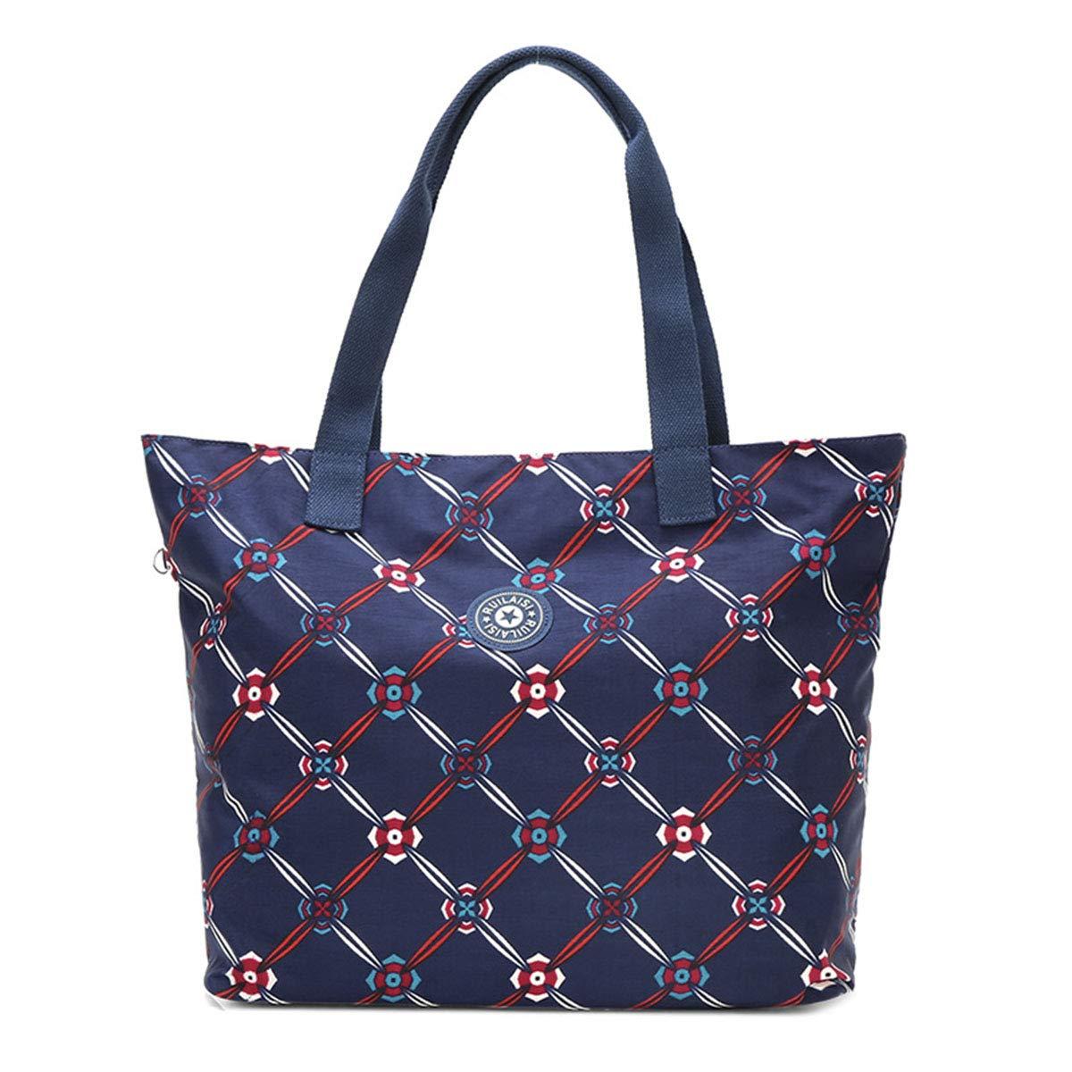 Casual Outdoor-Umhängetasche aus gewaschenem Nylon für Damen, spritzwassergeschützt große Handtasche bequem und stilvoll B07NSVHN3V Umhngetaschen Vollständige Palette von Spezifikationen