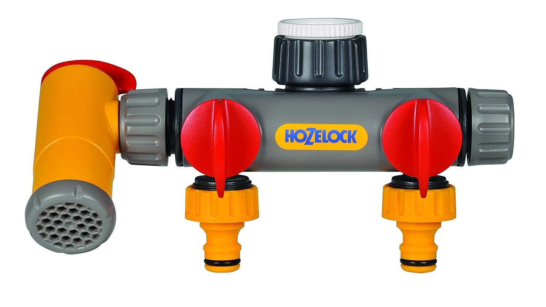 Hozelock Flowmax 3-Way Tap Connector 2250 0000