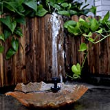 Lewisia Built-in Battery Solar Fountain Pump with