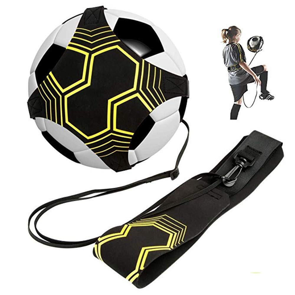 MUXItrade football dentra/înement Ceinture,Ballon de football dentra/înement avec /élastique Ceinture dentra/înement r/églable pour Enfant