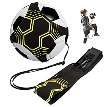 MUXItrade Kick Trainer Football Training Aid Perfect for Football Skills Improvement,Fit for Balls Size 3 4 5 Kids and Adults