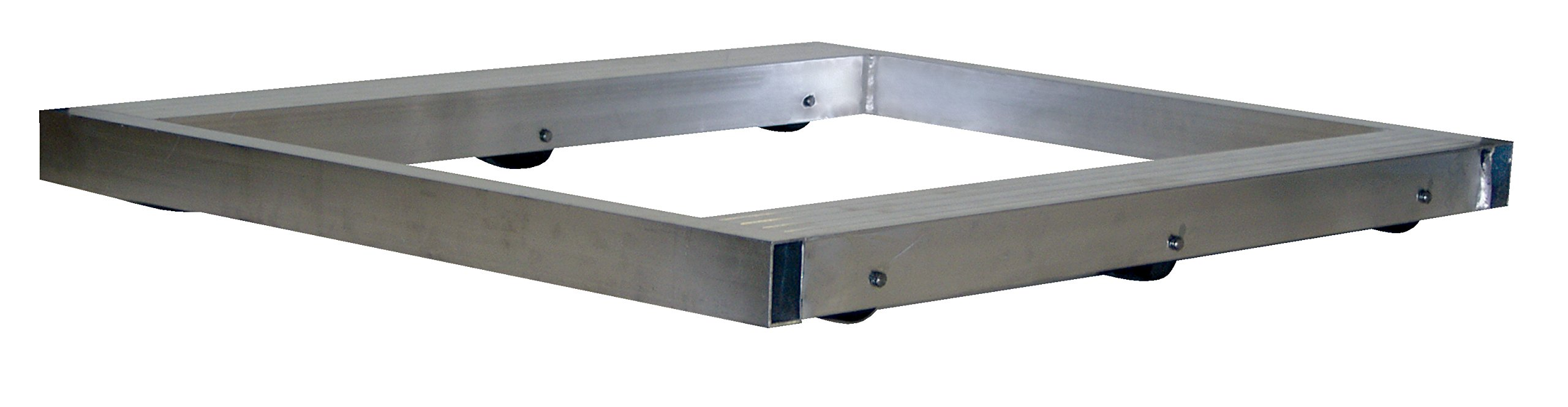 Vestil DOL-3636-6T Pallet Dolly, Tilting, Aluminum, 4,000 lb. Capacity, 4-1/8 x 36 x 36'' by Vestil