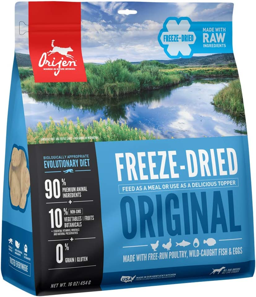 Orijen Freeze-Dried Dog Food, Original, Biologically Appropriate & Grain Free