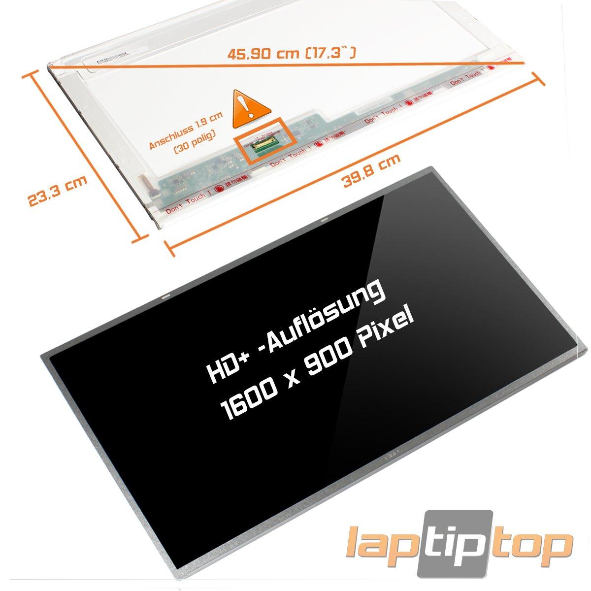 Laptiptop 17,3 LED Display Screen Glossy Ersatz f/ür Acer Aspire E1-772G Serie 30pin Bildschirm Panel