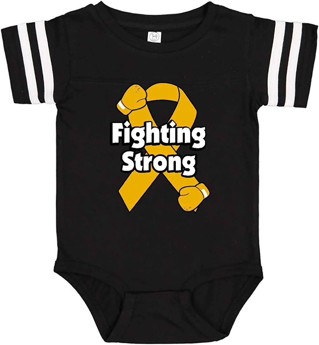 inktastic Appendix Cancer Fighting Strong Infant Creeper