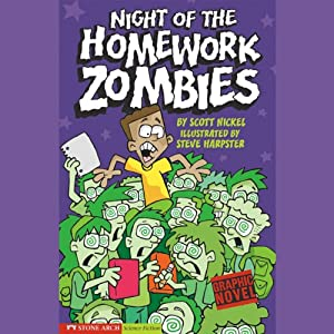 Night of the Homework Zombies Audiobook