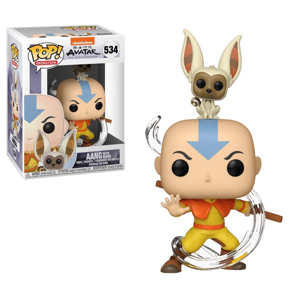 Winged Avatars Of Memory And Return >> Funko Pop Buddy Avatar Aang W Momo Amazon Co Uk