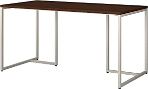 Bush Business Furniture Office by kathy ireland Method Table Desk, 60W, Century Walnut