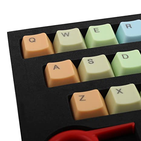 Amazon.com: DealMux ABS 37 Chaves Backlight roxo teclas de teclado mecânico: Electronics