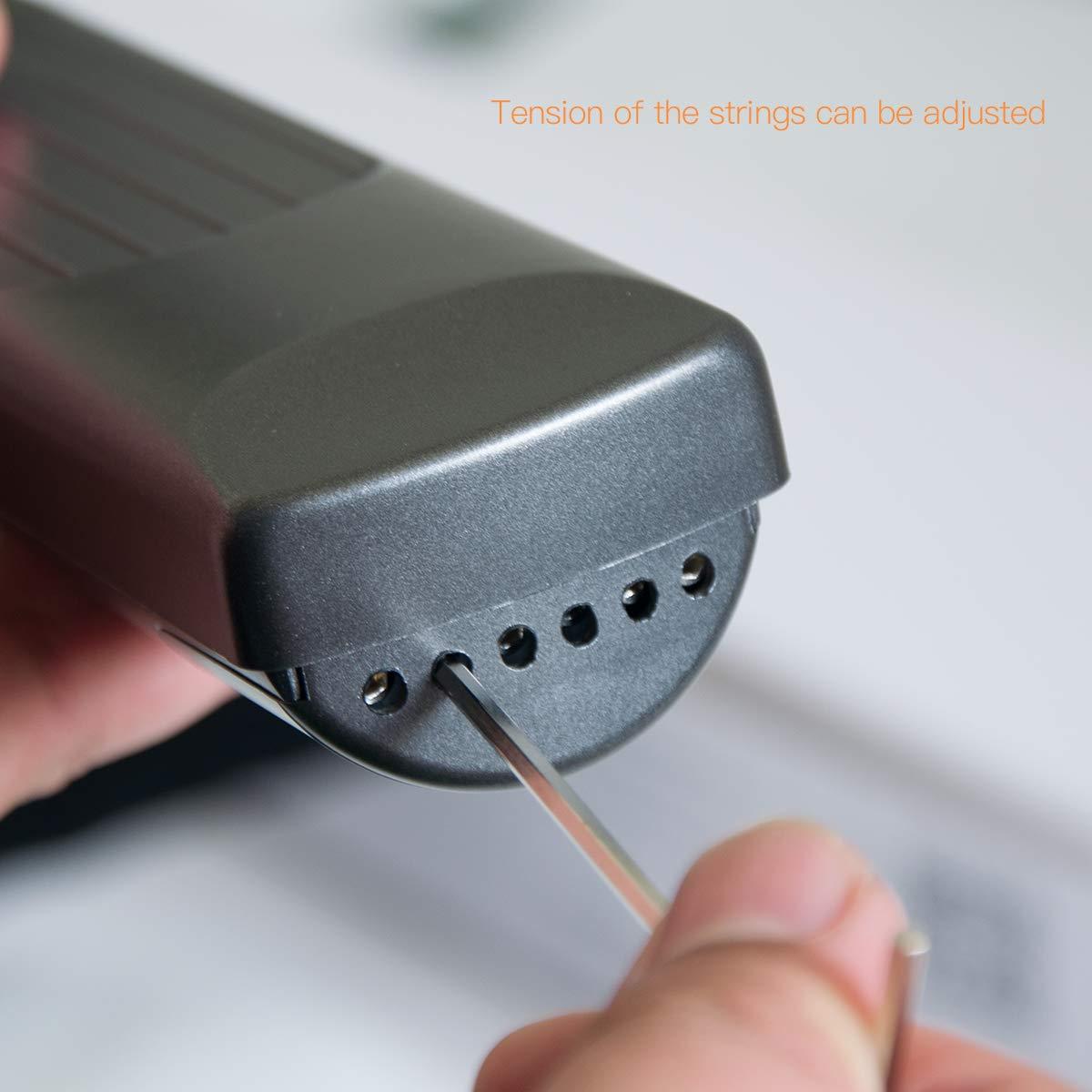 Pocket Guitar Chord Trainer principiante strumento pratico//portatile con uno schermo ruotabile Chords chart